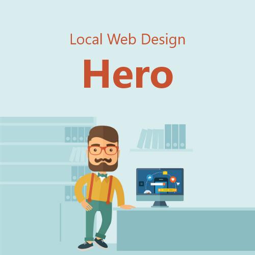 Local Web Design Hero